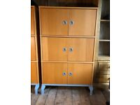 Storage unit - Ikea Effectiv - in beech - two available