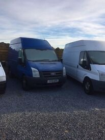 for sale this ford transit high top mwb 2009