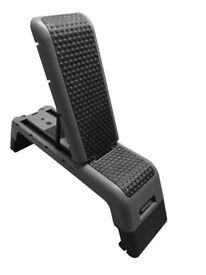 FXR Sports Folding Stepper Step Incline Decline Flat Weights Bench