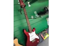 PRS SE eg - electric guitar - lovely condition metallic red
