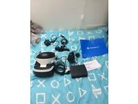 New PlayStation VR headset with games Xmas
