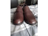Brand New unwanted gift. MBT mens size UK 9 in brown Loafer shoes