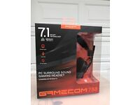 Gaming headset gamecom 788