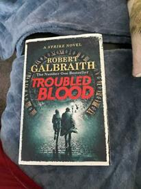 Robert Galbraith & J K Rowling books