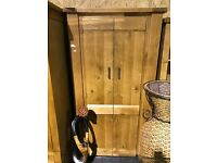 Two NEW very solid OAK wardrobes--399 each