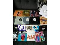 Collection of various old dance records
