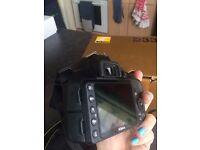 Nikon D3300 + bag + additional lenses + batteries