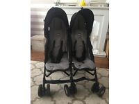 #####SOLD#####Chicco echo double buggy in immaculate condition