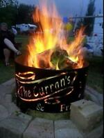 Custom Fire Pits and Accessories