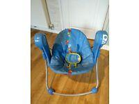 Bright Star baby swing chair