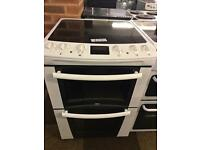 ZANUSSI ELECTRIC COOKER 60CM WIDE WITH GUARANTEE