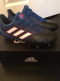Adidas 17.1 Leather FG Football Boots size 6.5