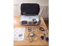 Epson Projector - Powerlite S1+ SVGA LCD projector with all cables, instructions and bag.
