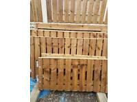 Heavy duty treated Single gate 65x44