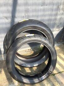 Pair of Brand New Pirelli Diablo Rosso Corsa tyres 180£