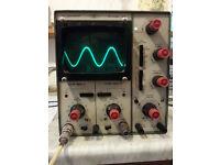 Telequipment D52 Oscilloscope