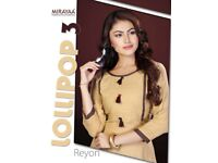 MIRAYAA LAUNCHING LOLLIPOP VOL 3 RAYON TOP WITH LEGGINGS COLLECTION WHOLESALE