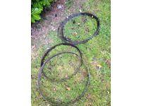 Vintage barrel rings