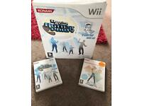 Wii dancing mat and games