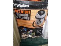 Wet m dry vac