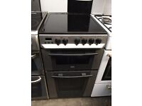 ZANUSSI free standing electric ceramic cooker 50 cm width perfect working order