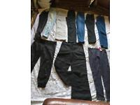 Ladies bundle trousers jeans leggings Size 6/8 Used good condition £15