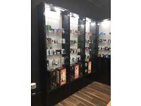 Retail shop cabinets