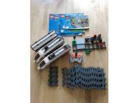 Lego City Train Set 60051 plus extra track 7499 + 7895