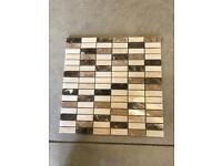 Real marble mosaics, 66 sheets available