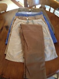 Selection of Boys Shorts and Trousers