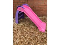 Little tikes first slide - pink