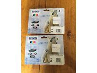 Ink cartridges - EPSON Polar bear 26 Multipack (2 Multipacks)