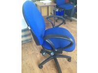 PC Chair in Blue - Clean and in working condition
