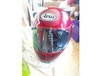 Arai Motorbike Helmet. Good condition