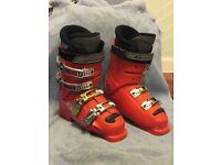 Junior Salomon Race Ski Boots – Course T - Mondo Size 24 / Adult UK 5