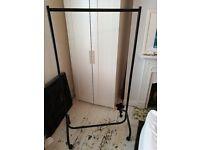 Sturdy Argos clothes rail