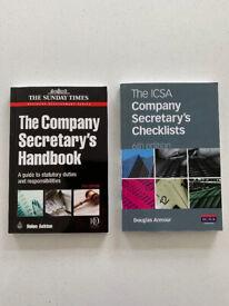 ICSA Company Secretary's Checklists & The Company Secretary's Handbook - Helen Ashton