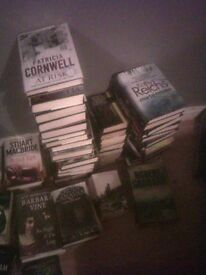 Patricia Cornwell and Kathy reichs books