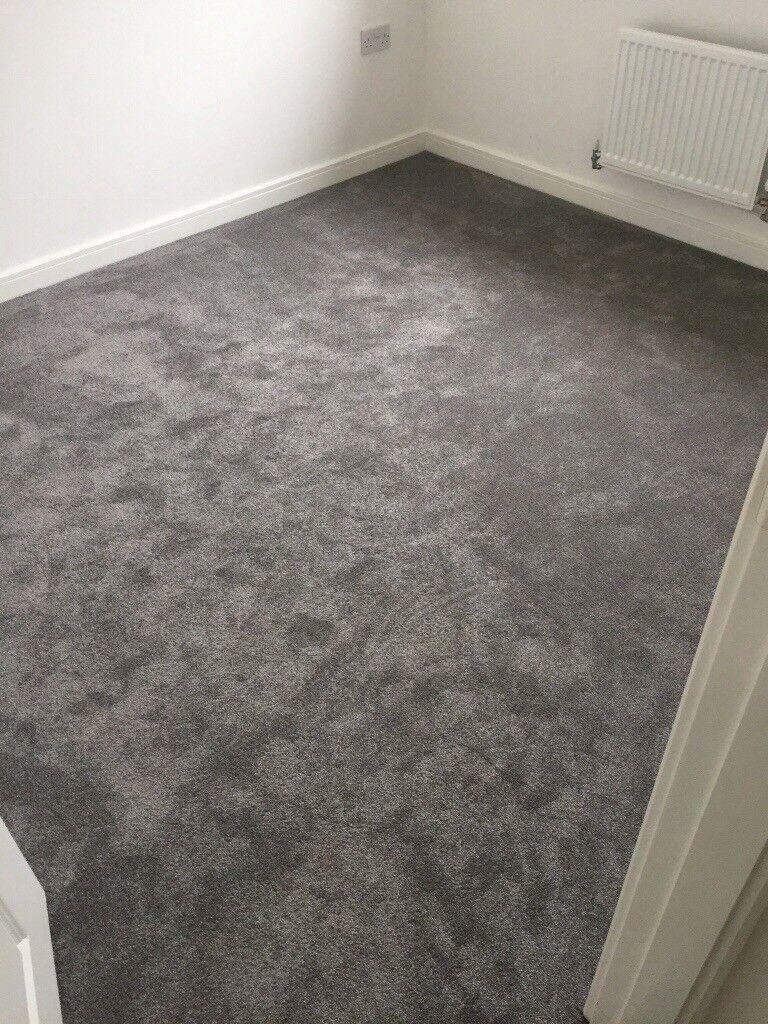 Brand new Grey Carpet 3.4x3.1m