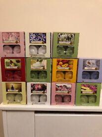 Yankee Candle Box Of 12 Tea Lights Brand New