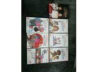 LITTLE BRITAIN BOX SET and 6 OTHER DVD'S
