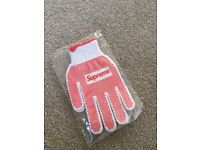 Genuine 'Supreme' SS18 Gloves
