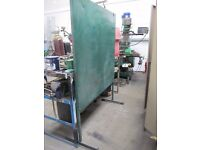Welder Screen/Workshop Divider