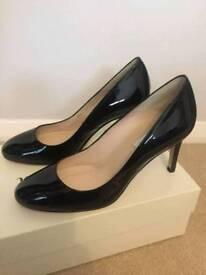 Women's LK Bennett 'Sasha' Black Court Shoes UK 4 - **WORN ONCE**