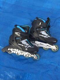 As new MONGOOSE Tigershark inline skates