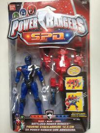 New Power Rangers SPD 12.5 cm Battlized Power Ranger RARE