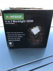 JOBLOT 30 x Homebase 4 in 1 Work lights lighting Wholesale diy stock clearance market resale bulk