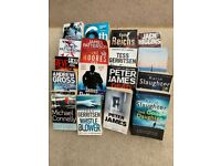 crime thriller books, peter james, michael connelly, tess gerritsen, karen slaughter