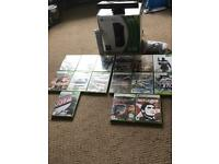 Brand New Unused Xbox 360 with 15 games & Kenect