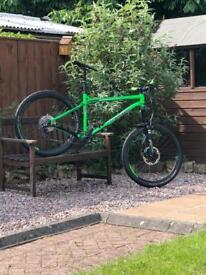 "Transition TransAm size large 20"" hardcore hardtail mountain bike"